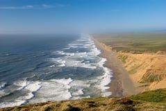 Kalifornien punktreyes kust Arkivfoton
