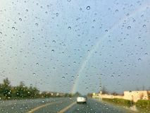 Kalifornien-Regenbogen Lizenzfreies Stockbild