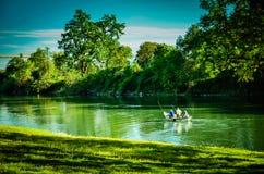 Kalifornien Sacramento River Royaltyfri Fotografi