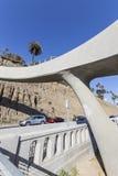 Kalifornien sluttning Santa Monica California Royaltyfria Bilder