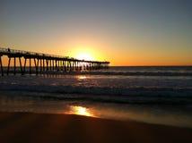 Kalifornien solnedgång Royaltyfri Foto