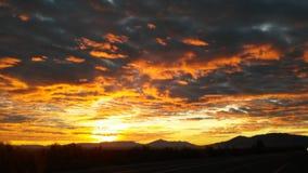 Kalifornien-Sonnenaufgang Stockfotos