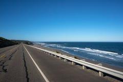 Kalifornien Stillahavskustenhuvudväg arkivfoton
