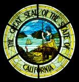 Kalifornien stort skyddsremsatillstånd Royaltyfri Fotografi