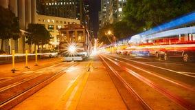 Kalifornien-Straße San Francisco Lizenzfreies Stockbild
