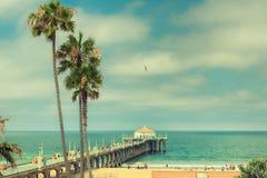 Kalifornien strand royaltyfria bilder
