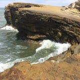 Kalifornien strand Fotografering för Bildbyråer