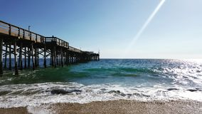 Kalifornien strand Royaltyfri Fotografi