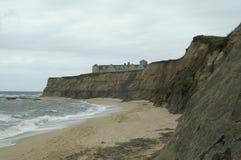 Kalifornien-Strand-Haus Lizenzfreie Stockbilder