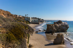 Kalifornien strandhem Royaltyfria Foton