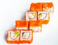 Kalifornien sushi Arkivfoton