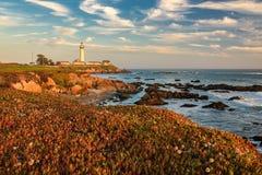 Kalifornien-Taubenpunkt Leuchtturm Stockbilder