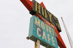 Kalifornien tecknet för motell för Roy ` s royaltyfri fotografi