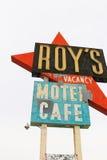 Kalifornien tecknet för motell för Roy ` s royaltyfri bild