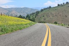 Kalifornien - Tulare County Royaltyfri Bild