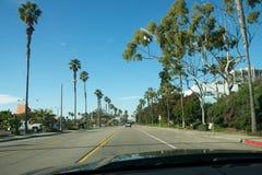 Kalifornien vägtur Arkivbild