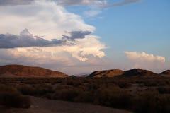 Kalifornien-Wüste - Roadtrip Vereinigte Staaten Lizenzfreie Stockfotografie