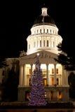 Kalifornien-Weihnachten Lizenzfreie Stockbilder