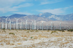 Kalifornien Windfarm Stockfotografie