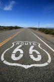Kalifornii 66 trasy zdjęcia stock