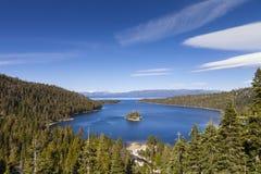 Kalifornii bay emerald jezioro tahoe Obrazy Royalty Free