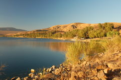 Kalifornii castaic angeles los usa lake Obraz Stock
