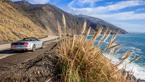 Kalifornii 1 highway zdjęcie royalty free