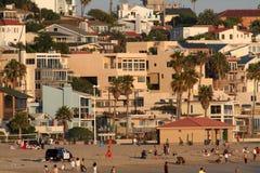 Kalifornii na plaży Fotografia Royalty Free