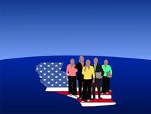 kalifornijczyk zespół jednostek gospodarczych Zdjęcia Stock