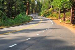 Kalifornijska autostrada Zdjęcie Royalty Free