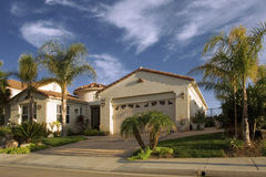 kalifornijskie dom Zdjęcia Stock