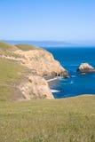 kalifornijskie punktu Reyes brzegu Zdjęcie Stock