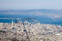 kalifornijskie San Francisco w centrum, zdjęcia royalty free