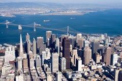 kalifornijskie San Francisco w centrum, Zdjęcie Stock