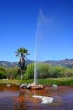 kalifornijskie wierny calistoga gejzer old s fotografia stock