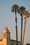 Kalifornijskiego Santa cruz mieszkania obraz stock