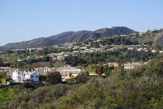 Kalifornische Häuser lizenzfreie stockbilder