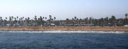 kalifornisk kust Arkivbilder