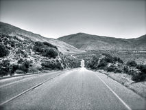 Kalifornisk väg Arkivfoton