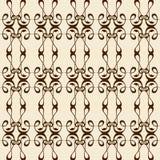 Kaligrafia ornament bezszwowy Obrazy Stock
