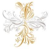 kaligraficzna dekoraci projekta elementów strona Set Zdjęcia Stock