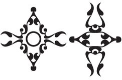 kaligraficzni pomocników Obrazy Royalty Free