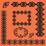 kaligraficzny projektów elementów wektora obrazu ilustracji
