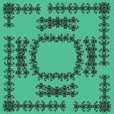kaligraficzny projektów elementów wektora obrazu royalty ilustracja