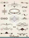 kaligraficzny projektów elementów wektora obrazu Obrazy Royalty Free