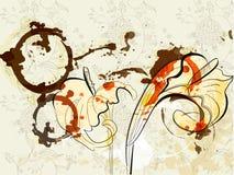 kalii piękne leluje ilustracja wektor