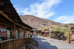 Kalikåspökstad i Kalifornien, Mojave royaltyfri foto