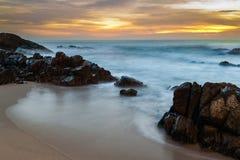 Kalim海滩,普吉岛,泰国 库存照片