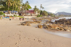 Kalim bay before sunset, next to Patong beach, Thailand Stock Images