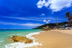 Kalim Beach, Phuket, Thailand Stock Image